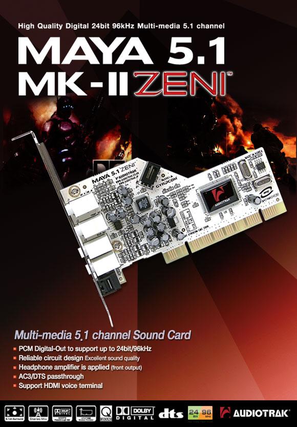 Bán card sound Creative 5.1 và 7.1 có số lượng nhiều